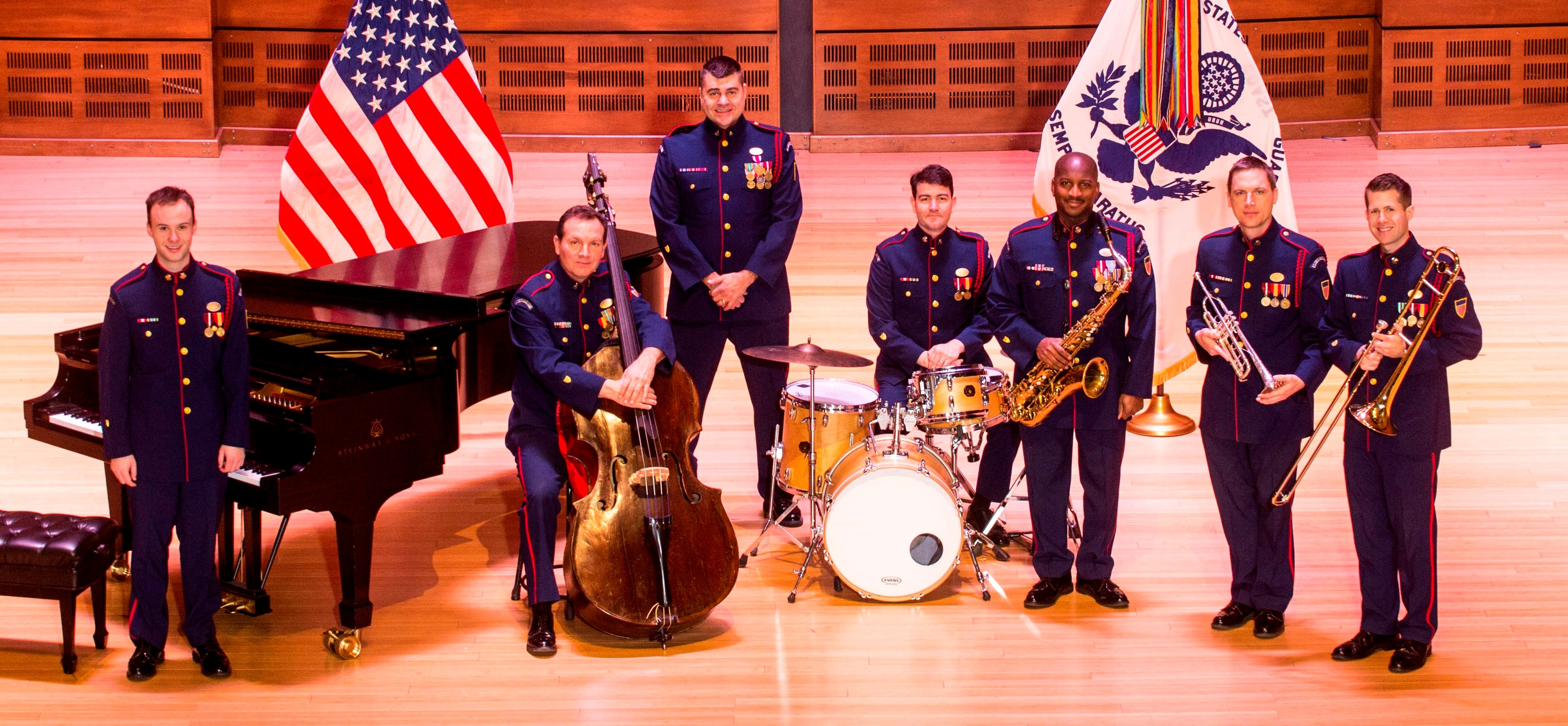 Dixieland Jazz Band at the Millenium Stage, Kennedy Center