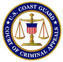 Coast Guard Court of Criminal Appeals logo.