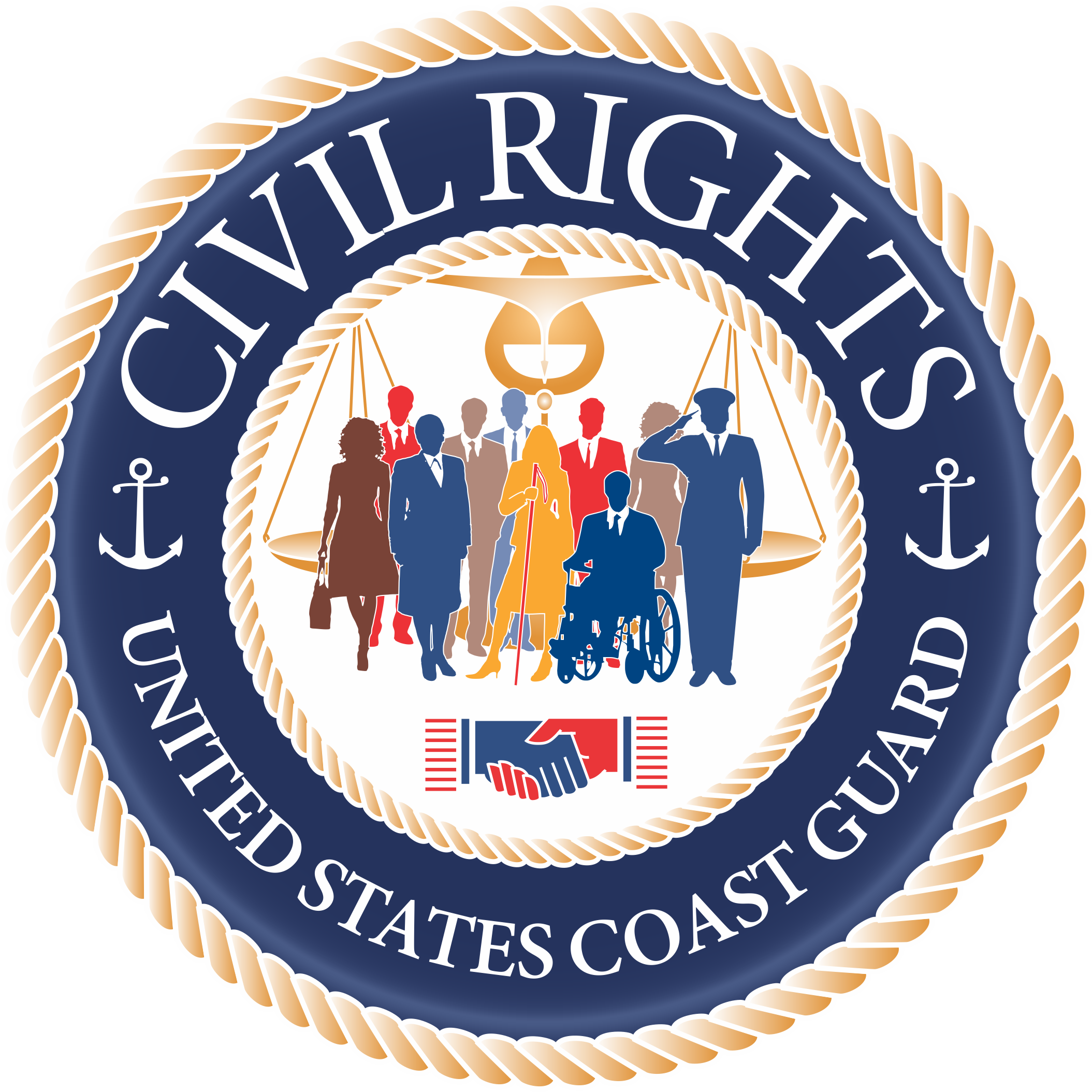 Coast Guard Civil Rights logo