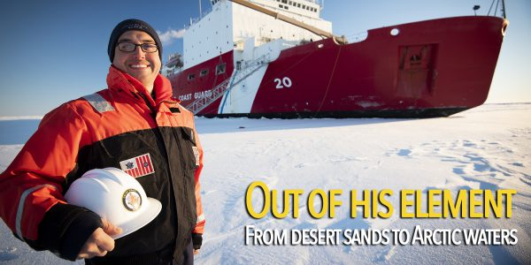 Out of his native element: El Paso native trades desert sands for Arctic waters