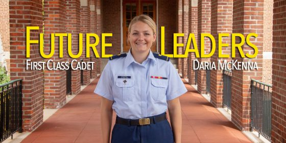 Future Leaders: First Class Cadet Daria McKenna