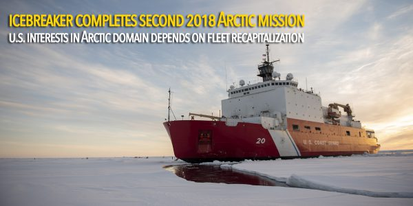 Coast Guard icebreaker crew completes second 2018 Arctic mission