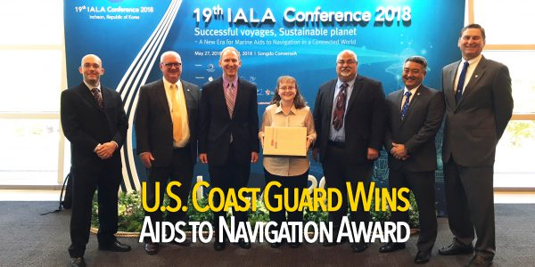 Coast Guard recognized for electronic aids to navigation hurricane response