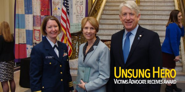 Victims advocate receives state award