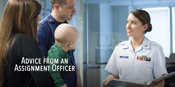 Dear Coast Guard Family: Advice from an Assignment Officer